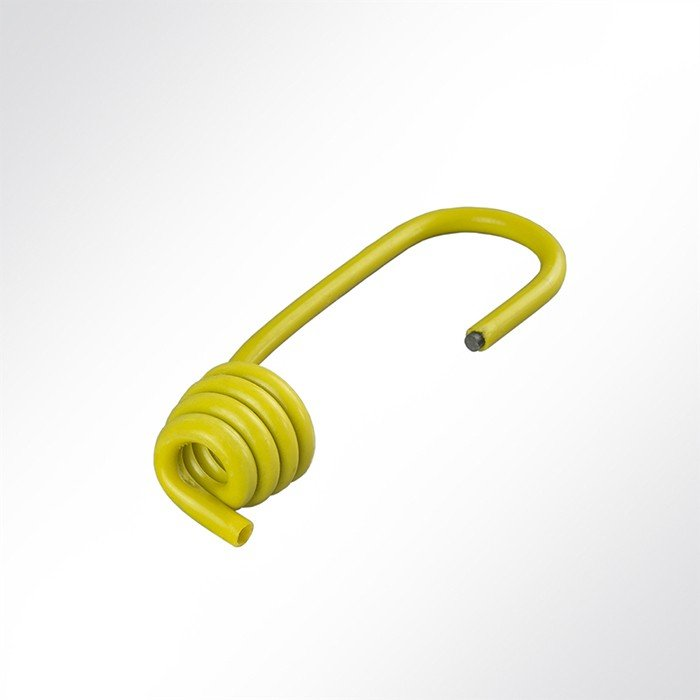 LYSEL Kunststoffplanenseil mit Sisal-Einlage, D 1 m 8mm in Wei/ß